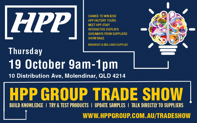 HPP Trade Show 19th October